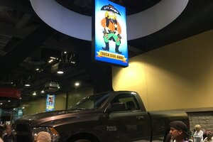 Video: Longtime Industry Pro Wins Truck Giveaway at the Western Pool & Spa Show