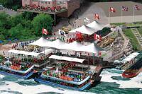 Niagara Falls Gorge Boat Tour pavilion