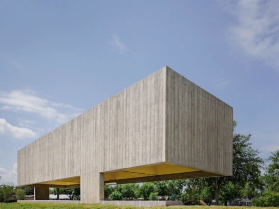 Webb Chapel Park Pavilion, Mission, Texas, by Cooper Joseph Studio