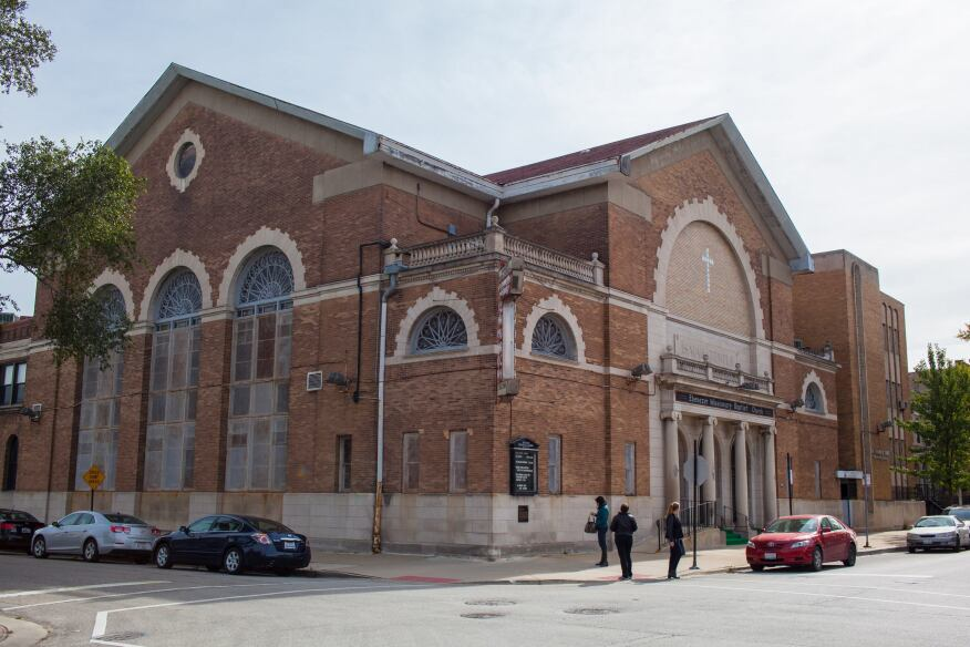 The Ebenezer Missionary Baptist Church is located in Chicago's Bronzeville neighborhood.