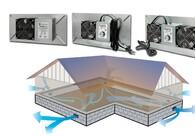 UnderAire™ Crawl Space Ventilation  Fans Prevent Mold & Mildew