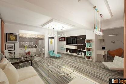 Interior design of a modern condo