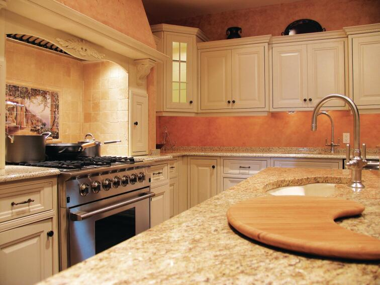 Green Gauge: Alure Home Improvements' Green Kitchen Display