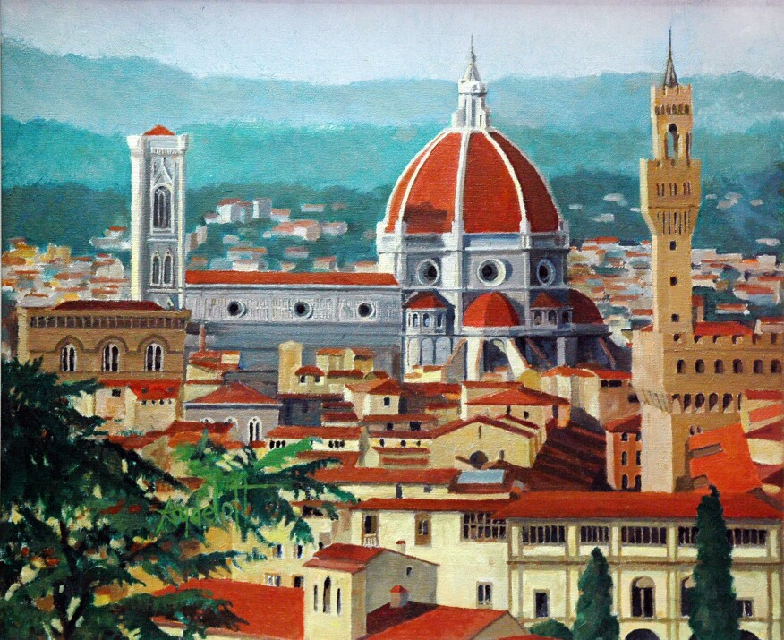 Florence, Italy, oil on canvas (2006)