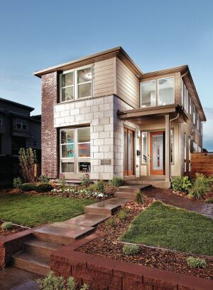 With 6 feet between houses, the 21 1/2–foot-wide units live like detached townhomes.