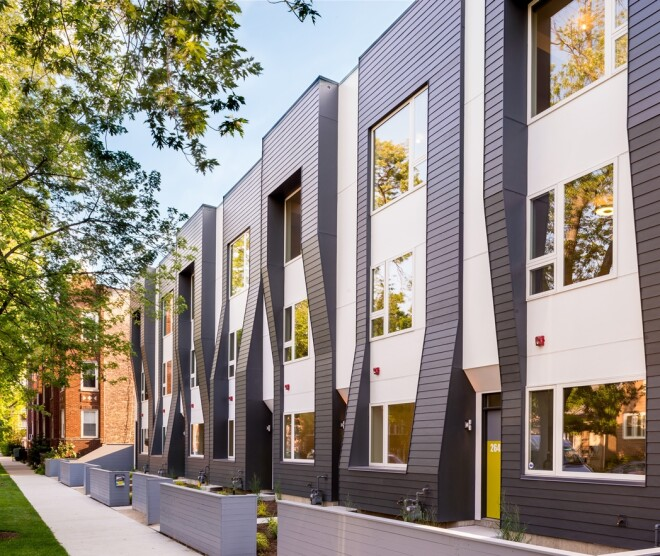 Designed for Density: Suburban Amenities in an Urban Location
