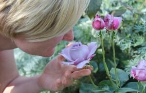 flower, sense of smell
