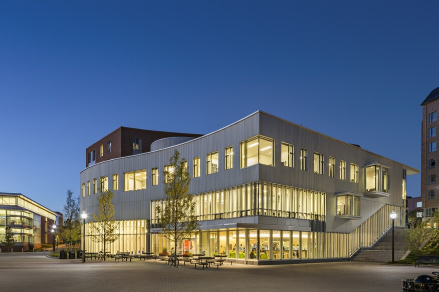 Commonwealth Honors College Community, by William Rawn Associates