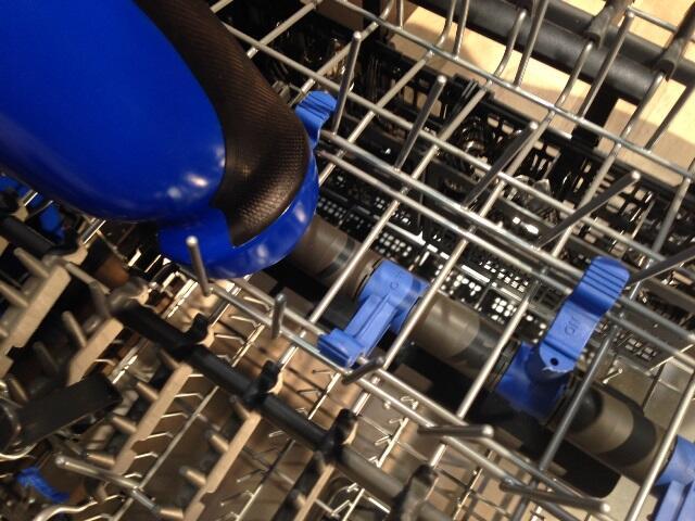 Electrolux dishwashers. Photo by Lauren Hunter.