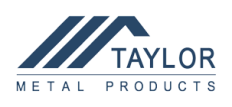 Taylor Metal Products Logo
