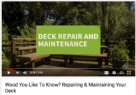 Video: How to Conduct a Deck Safety Check