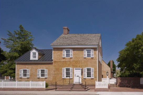 308 Mulberry, Lewes, Delaware, by Robert M. Gurney, FAIA