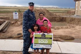 Buyers at a Saint Aubyn Homes community in Colorado Springs, Colo.