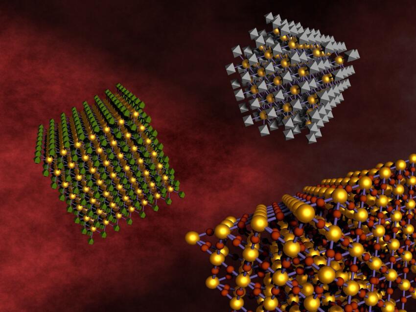 The self-assembly of custom nanocomposite arrays.