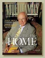 THAT WAS THEN: When Nelson Leenhouts appeared on the cover of MULTIFAMILY EXECUTIVE in August 2001, he had recently announced plans to step down as co-CEO of the REIT.