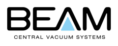 Beam Central Vacuum Systems by Electrolux Logo