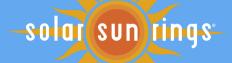 Solar Sun Rings Logo