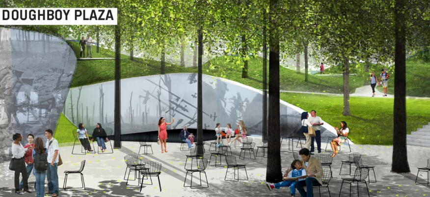 Finalist submission for WWI Memorial Competition, Aug 19, 2015.