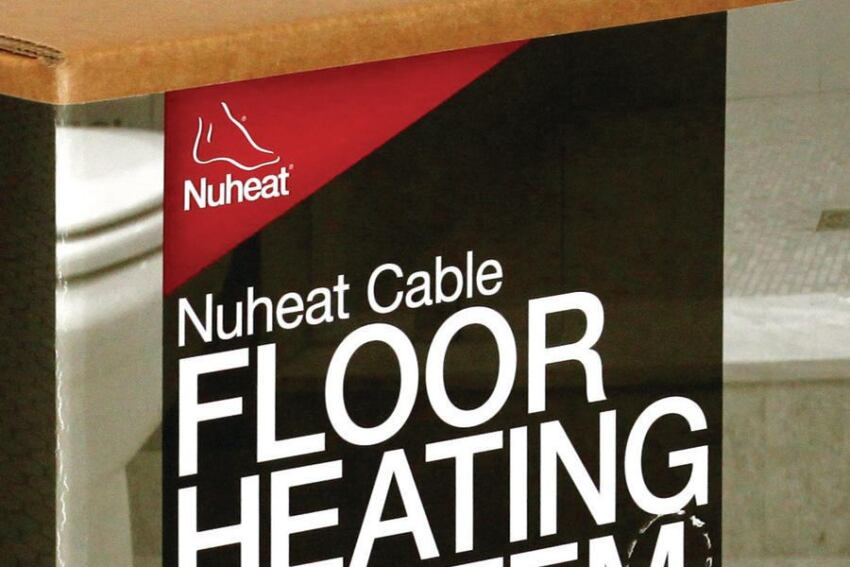 Nuheat's Free-Form Floor Warming
