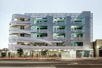 La Brea Housing, Designed by Patrick Tighe Architecture with John V. Mutlow Architects