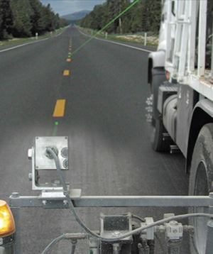 A laser and a machine mounted receiver are easy to use and ideal for road building projects. A contractor can gain a more precise final grade than they could without the system, as much as +/-1/4inch.