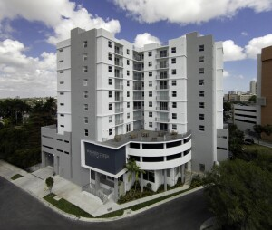 Wagner Creek Apartments will provide 73 brand-new affordable homes in Miami's burgeoning health district, a large employment hub.