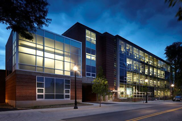 Hopkins Hall Renovations, Columbus, Ohio, by Braun & Steidl Architects