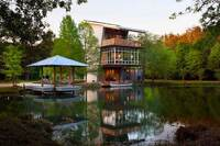 Luxury Pond House Shoots for Net-Zero Status