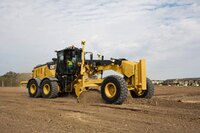 Motor grader from Caterpillar