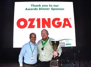 Marty Ozinga IV (president of Ozinga) and Billy Byrd Sr.