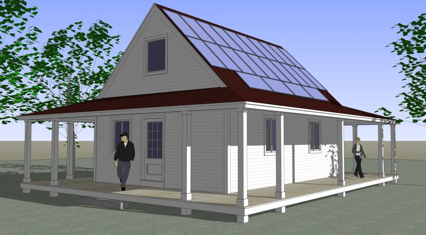 Sip cabin kits modern prefab cabin the passive solar for Sip kits