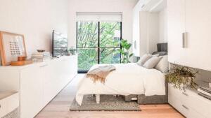 Micro apartment units in Kips Bay, Manhattan.