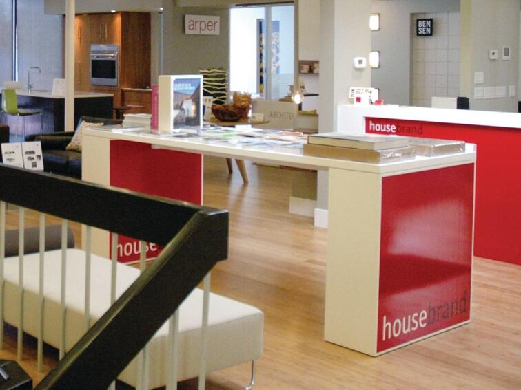 housebrand's Calgary office serves a multitude of purposes