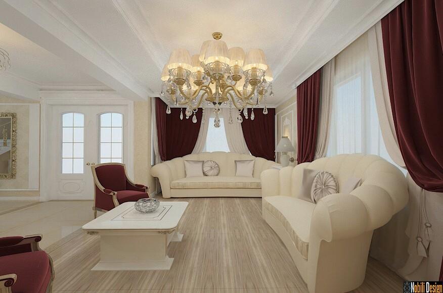 custom home interior design. Interior design classic Constanta house  Custom Home Magazine