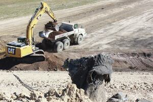Cleaning up after landfill fires