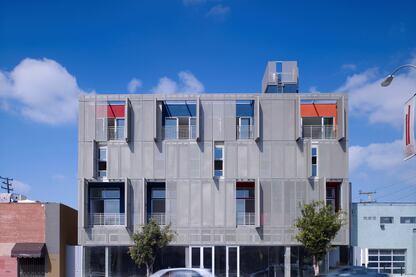 Cherokee Studios, designed by Brooks+Scarpa Architects.
