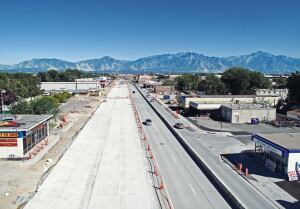 The Gold award for Urban Arterials & Collectors was given to the 3500 South Bangerter Highway to 2700 West, Phase II project.