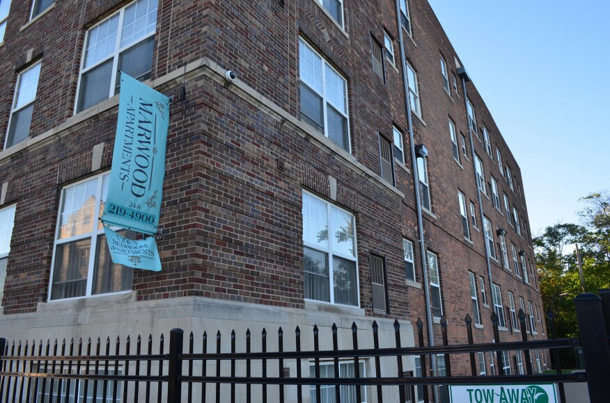 Marwood Apartments, a 53-unit building with no rent restrictions, was one of two properties acquired by Develop Detroit in September.