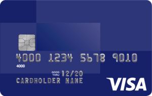 EMV Card. Photo courtesy Visa.