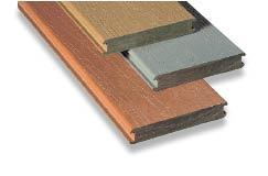 Figure 4. McFarland Cascade's Terratec Naturals decking contains rice hulls, which the company claims reduces the chances of the decking supporting mold or mildew growth.
