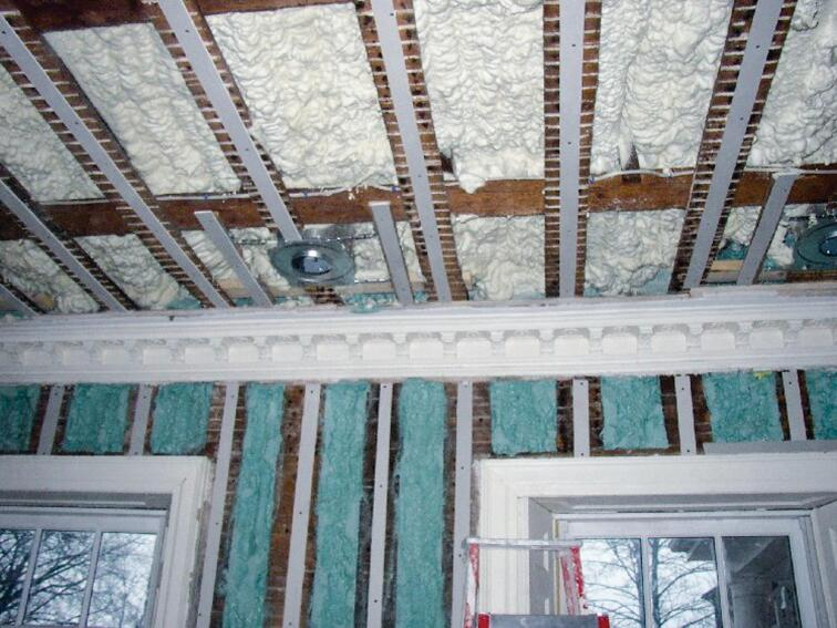NCFI InsulStar Closed-Cell Spray Polyurethane Foam Insulation