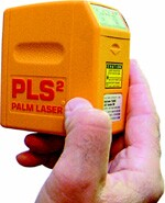 The PLS2 from Pacific Laser Systems is battery-operated and is designed for indoor use. 800.601.4500. www.plslaser.com.