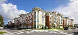 Carrfour Supportive Housing and Landmark Development have transformed a blighted 1950s apartment project into the 100-unit Hampton Village Apartments.