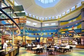 The Atrium at Eickhoff Hall