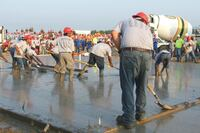 Record-breaking Concrete—22-minute Set