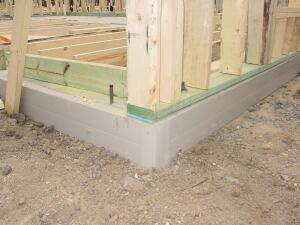 CertainTeed.    EnergyEdge insulates concrete slab edges, which the company says can account for 8% to 24% of a homes energy loss. The R-10 system consists of PVC rails, snap-on braces, and expanded polystyrene insulation. A retrofit product also is available. 800.233.8990. www.certainteed.com.