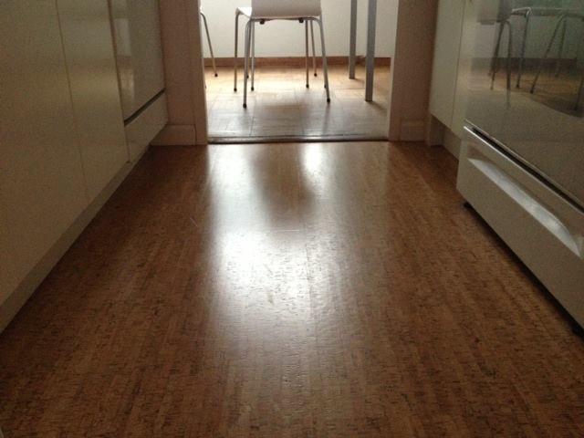 My Cork Kitchen Floor