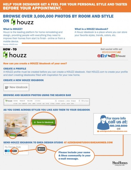 Shea Teams With Houzz on Design Center Ideazz