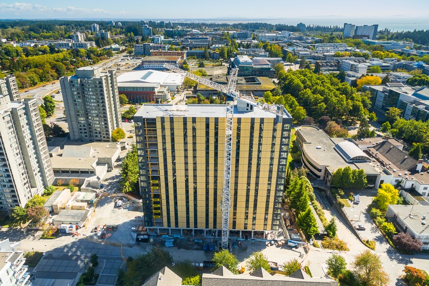 The University of British Columbia's Brock Commons Takes the Title of Tallest Wood Tower
