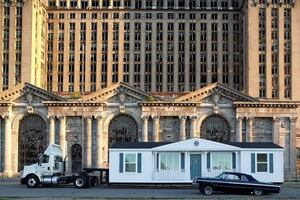 Mike Kelley's 'Mobile Homestead' at MOCAD—and on Detroit Streets